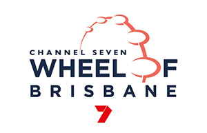 Wheel of Brisbane logo