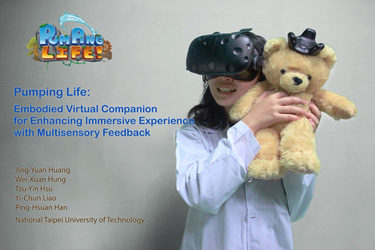 Pumping Life: Embodied Virtual Companion for Enhancing Immersive Experience with Multisensory Feedback